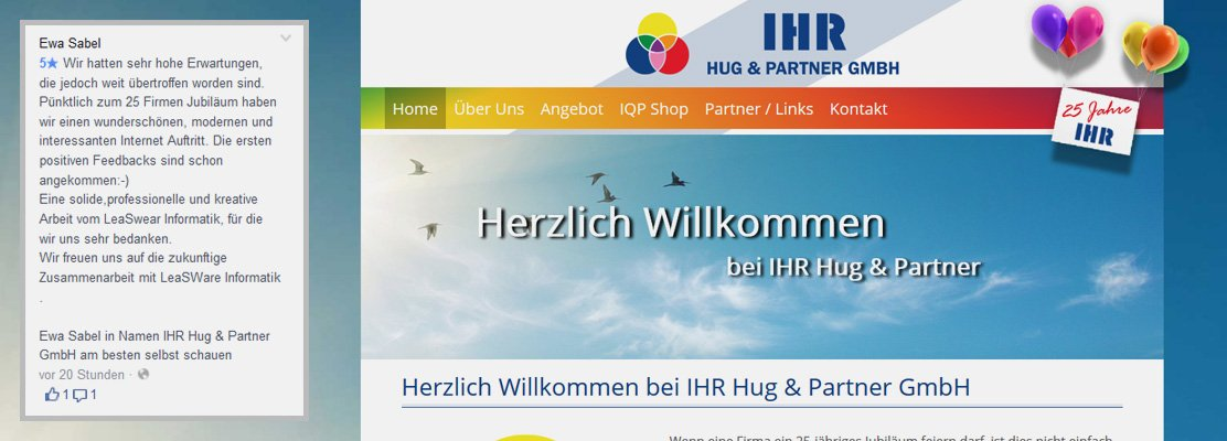 Kundenrezension IHR Hug & Partner