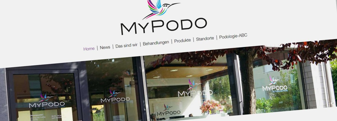 Neue Website: MyPODO
