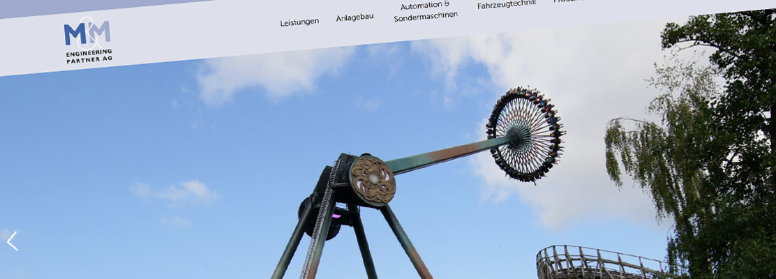 Neue Website M&M Engineering