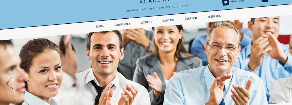 Neue Website Albin Academy